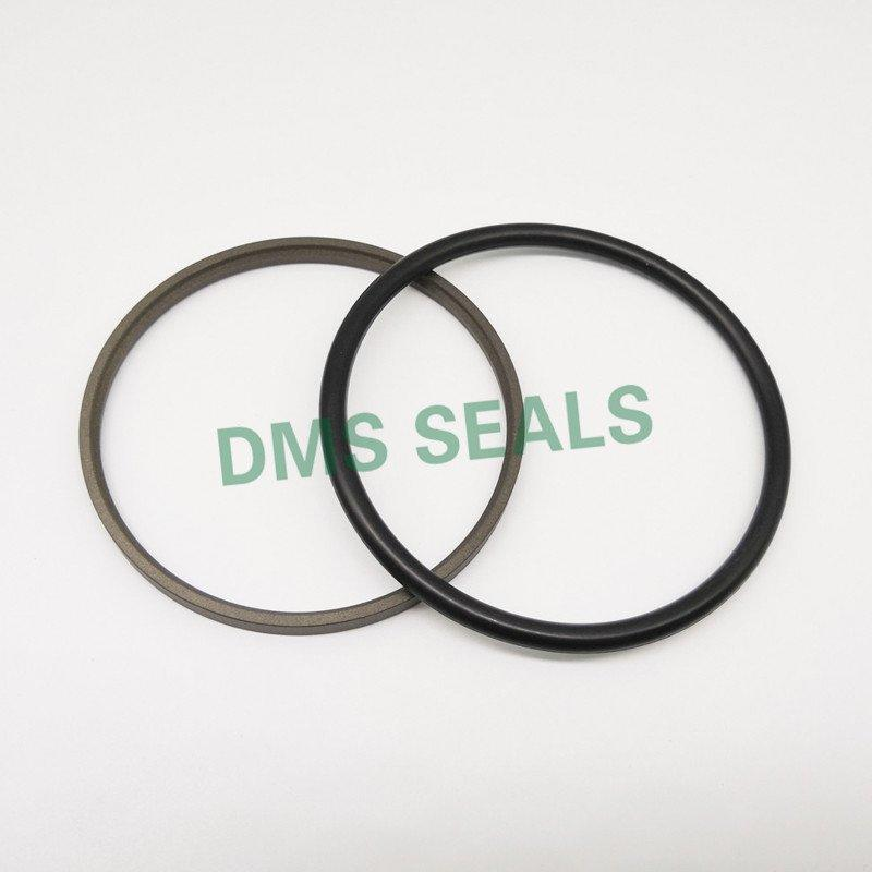 GSJ - Bronze PTFE Hydraulic Rod Seal Step Seal with NBR/FKM O-Ring