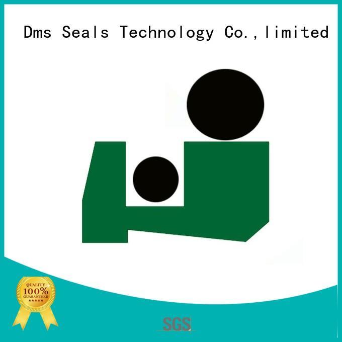 DMS Seal Manufacturer ptfe rod wiper seals scraper machines