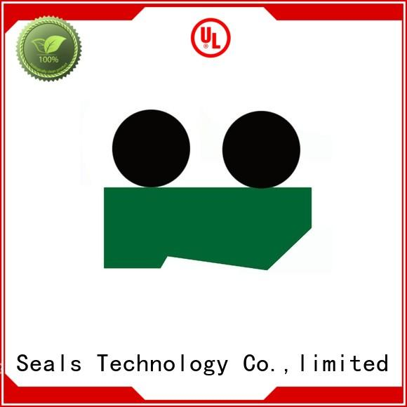high efficiency hydraulic wiper seals with nbr or fkm o ring for injection molding machines