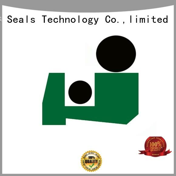 professional rod wiper seals with nbr or fkm o ring for forklifts DMS Seal Manufacturer