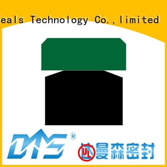 compact hydraulic piston seals suppliers with nbr or fkm o ring for pneumatic equipment DMS Seal Manufacturer