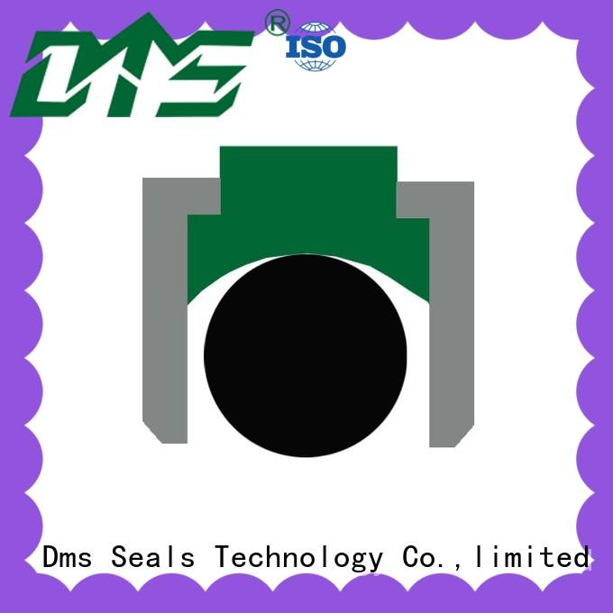 DMS Seal Manufacturer piston seals with ptfe nbr and pom for light and medium hydraulic systems