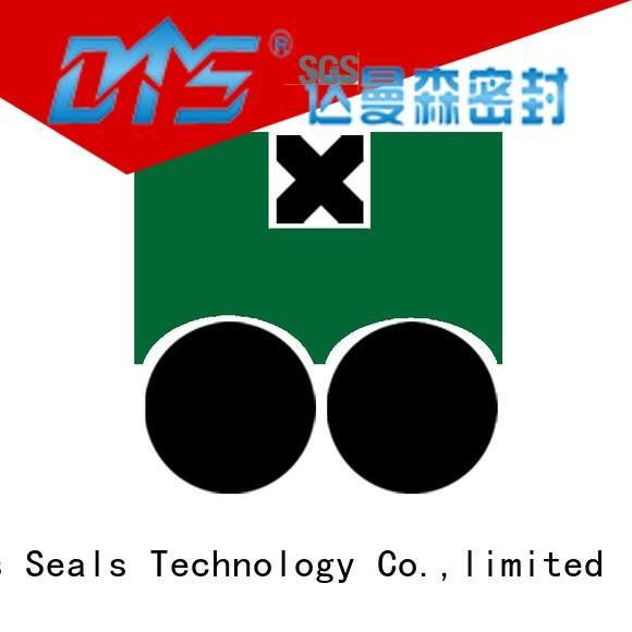 DAQ2 - PTFE Hydraulic Piston Seal with NBR/FKM O-Ring