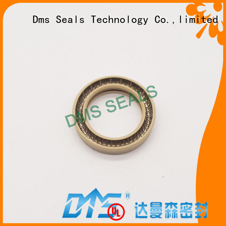 polyphenyl ester ekonol phb spring loaded seal online for reciprocating piston rod or piston single acting seal DMS Seal Manufacturer