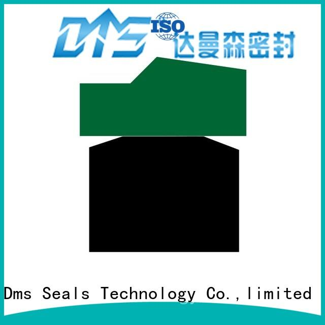 DMS Seal Manufacturer bronze hydraulic piston seals sizes with ptfe nbr and pom for light and medium hydraulic systems