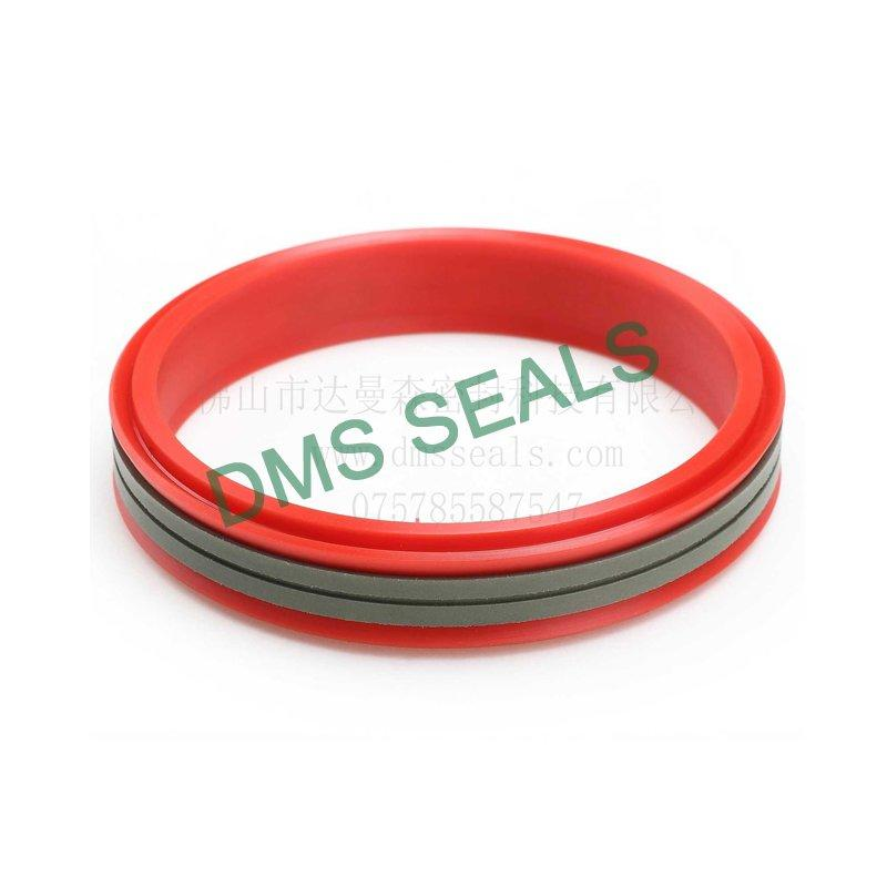 DDMA - PTFE Hydraulic rubber Piston Seal,pneumatic piston sealswith NBR/FKM O-Ring
