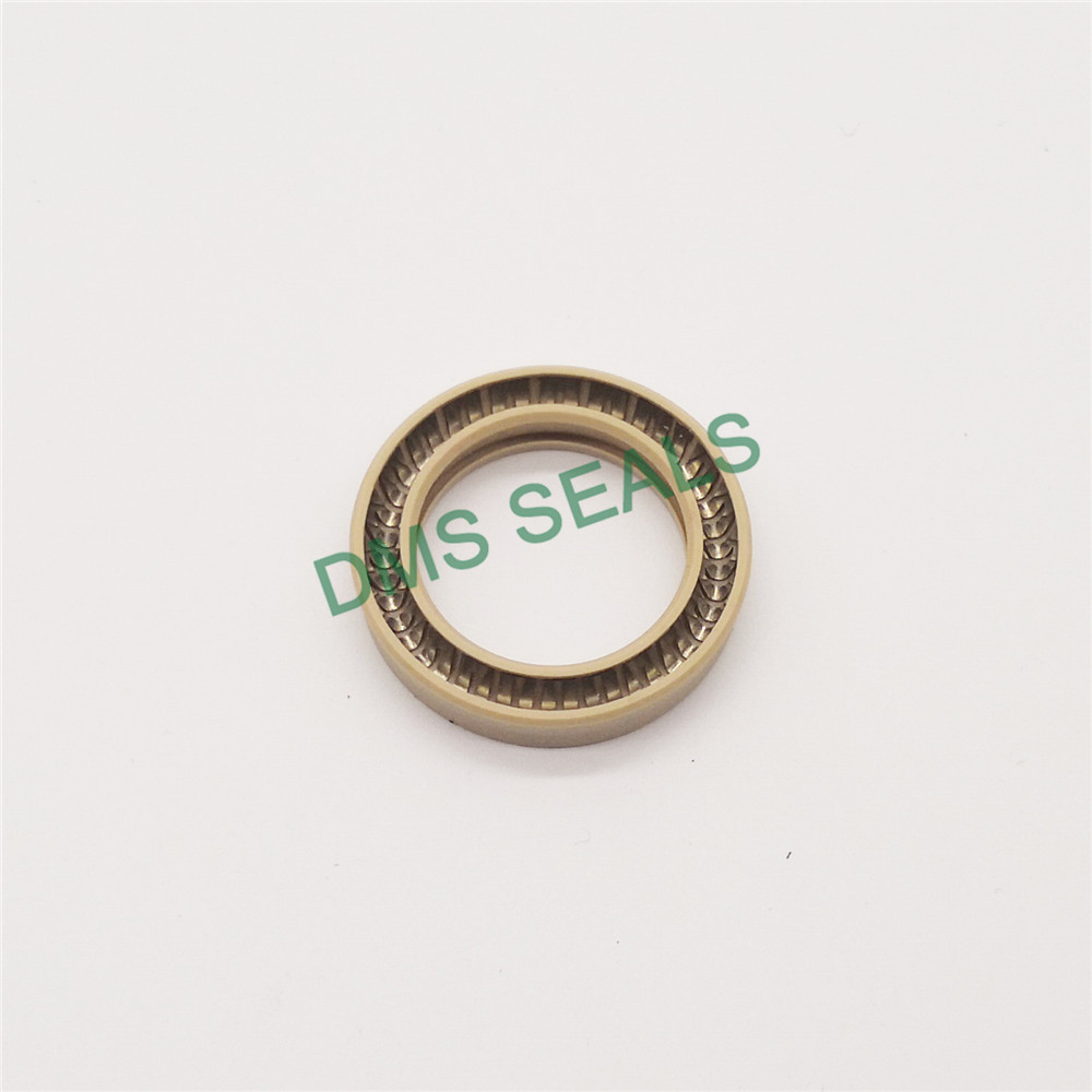 polyphenyl ester ekonol phb spring loaded seal online for reciprocating piston rod or piston single acting seal DMS Seal Manufacturer-2