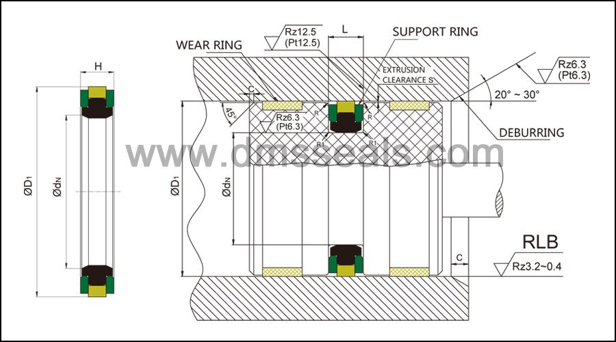 DMS Seal Manufacturer-Hydraulic Piston Seal | Rubber Seal Products | Dms Seal Manufacturer