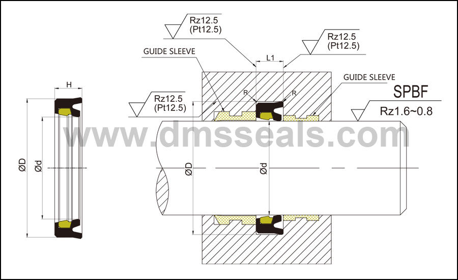 DMS Seal Manufacturer-Professional Hydraulic Rod Seal   O Ring Manufacturers