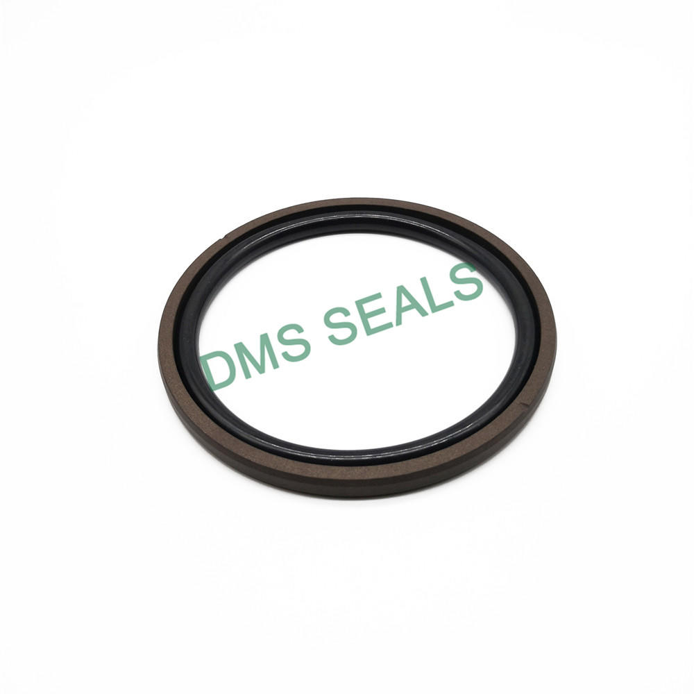 Brown SPGO - PTFE Hydraulic Piston Seal with NBR/FKM O-Ring