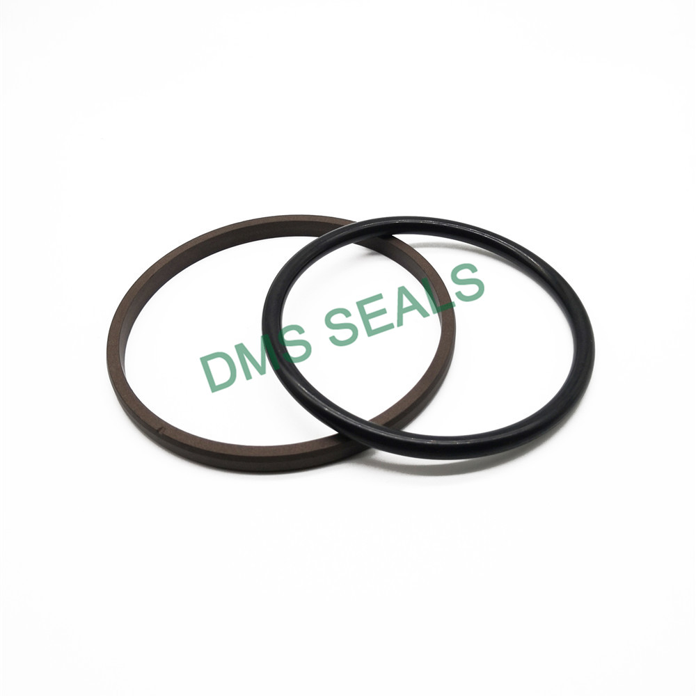application-bronze o-ring seal with ptfe nbr and pom for light and medium hydraulic systems-DMS Seal
