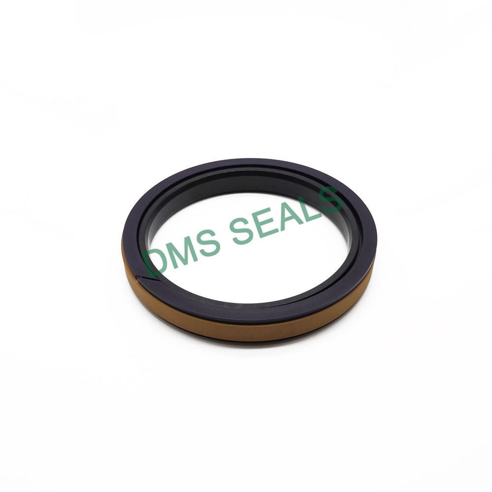 Yellow SPGW - Hydraulic o-ring seal compact and combined Piston Seal with PTFE NBR and POM