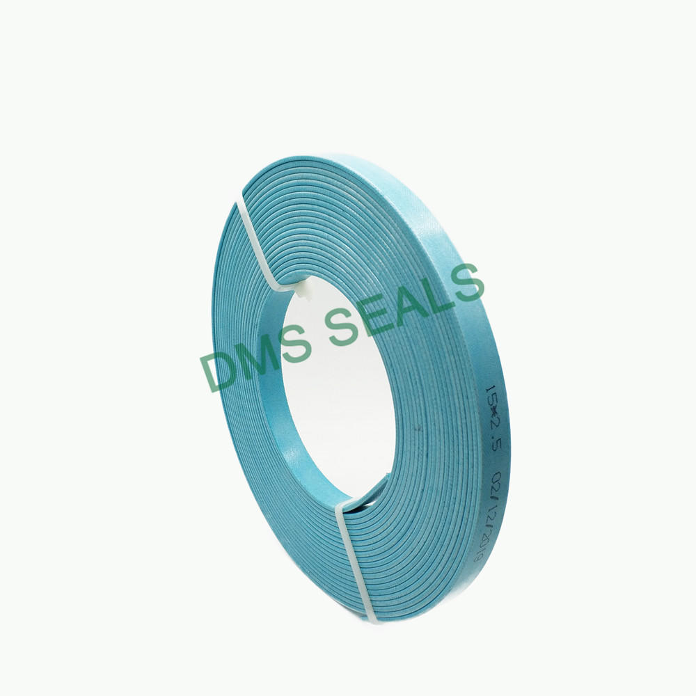 Blue Phenolic Resin Guide Tape Hard Fabric Guide Belt Resistance to Wear and High Pressure