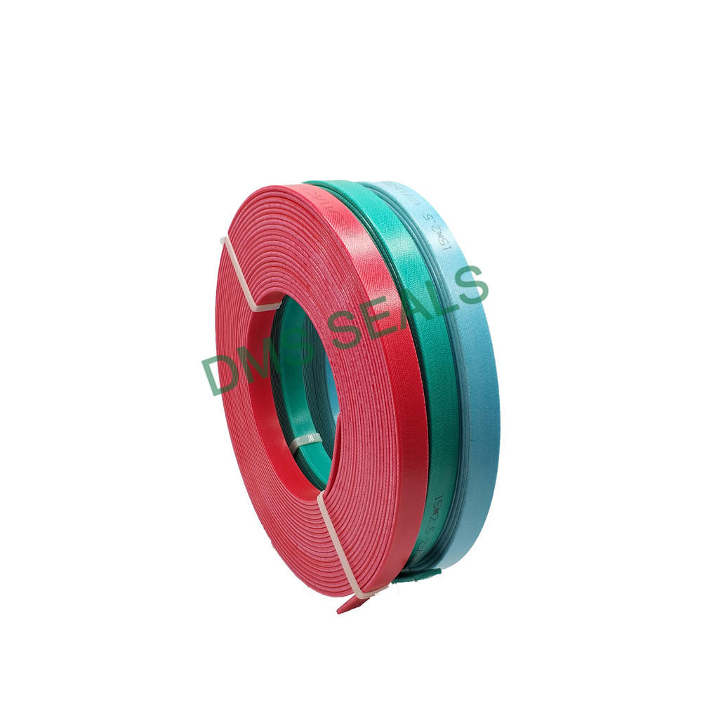 Red Phenolic Resin Guide Tape Hard Fabric Guide Belt Resistance to Wear and High Pressure