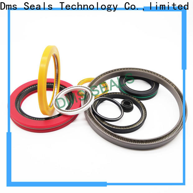 DMS Seal Manufacturer mechanical seal cooler Supply for reciprocating piston rod or piston single acting seal