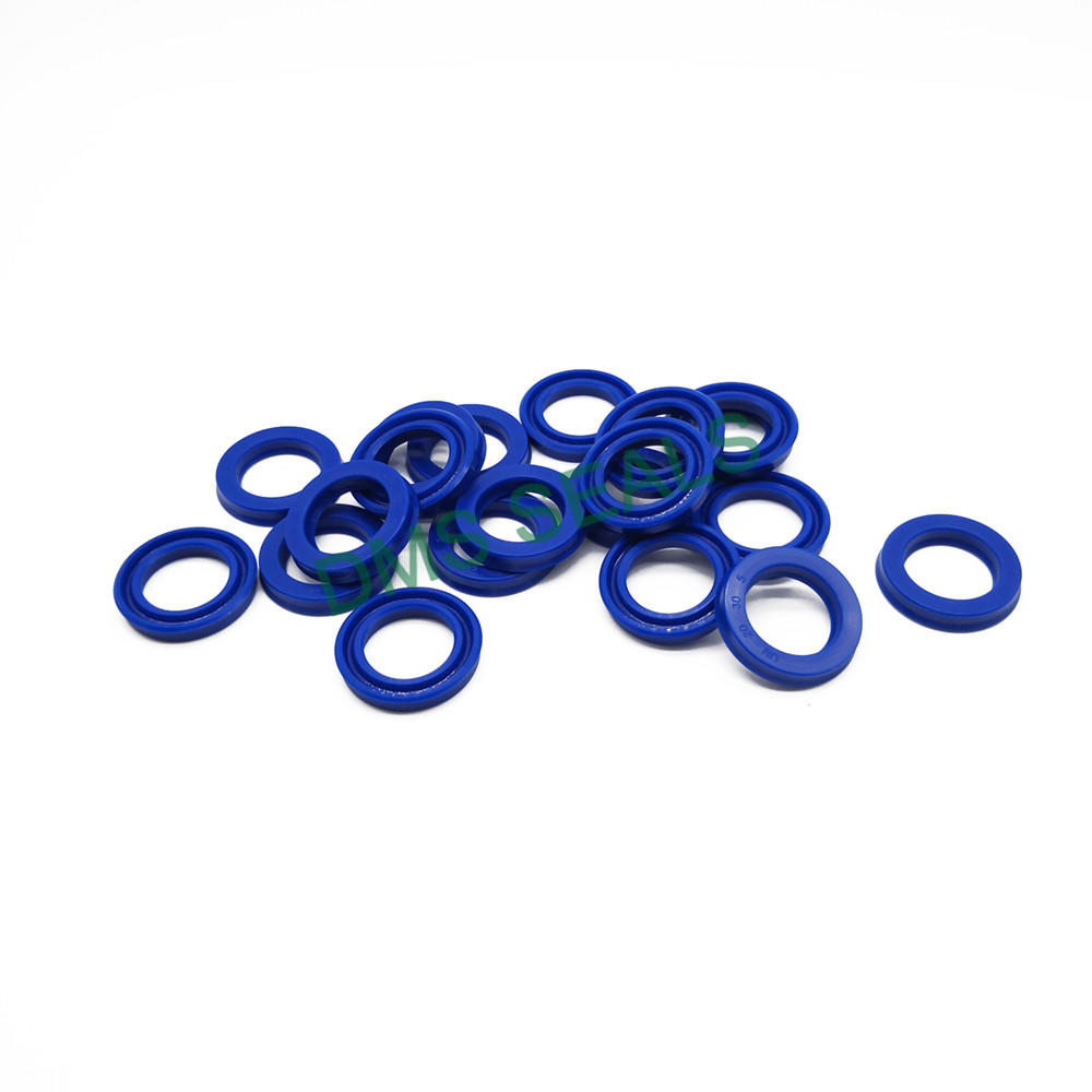 BLUE UNS Wear-resistant and high-pressure symmetrical U-shaped sealing ring