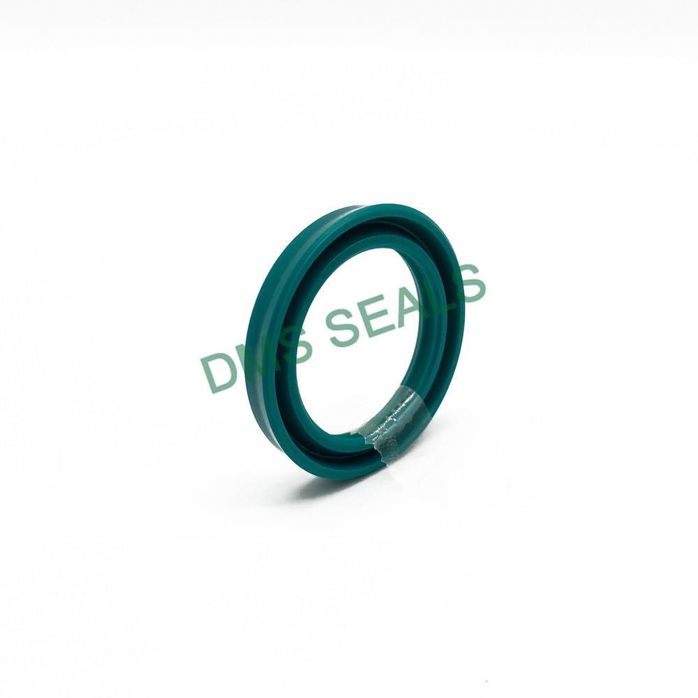 UR piston rod seal with high wear resistance
