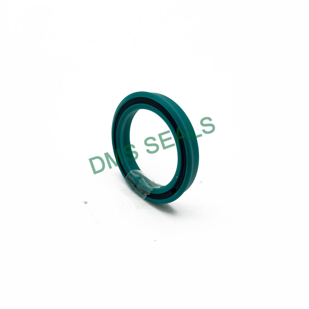 Impact and extrusion resistant piston rod seal MPS