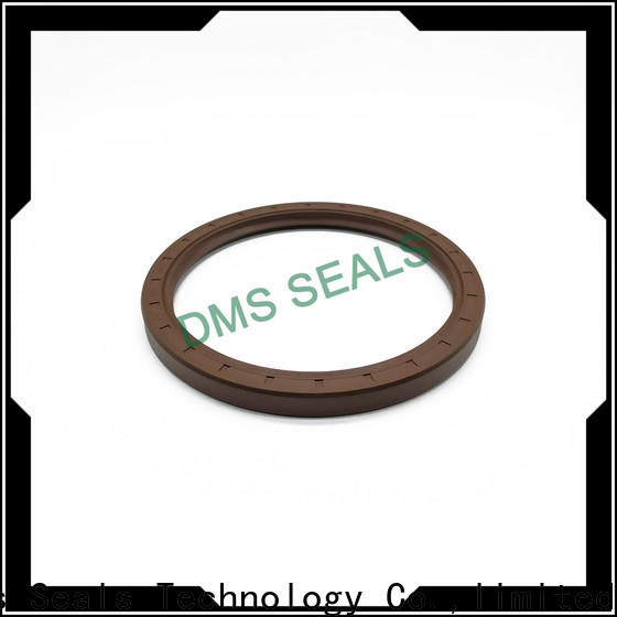 DMS Seals double lip truck oil seal with a rubber coating for housing