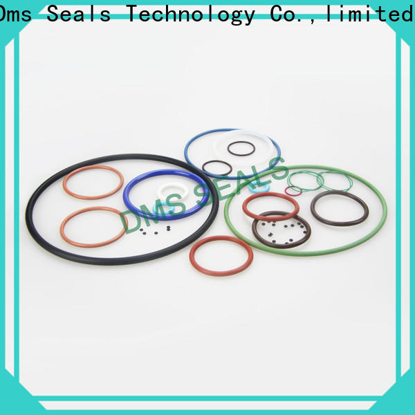 DMS Seals red rubber o rings manufacturers for sale