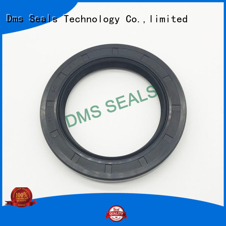 modern rubber oil seal with a rubber coating for low and high viscosity fluids sealing DMS Seal Manufacturer