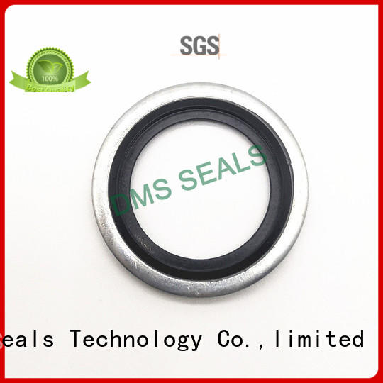 metric bonded seals for threaded pipe fittings and plug sealing DMS Seal Manufacturer
