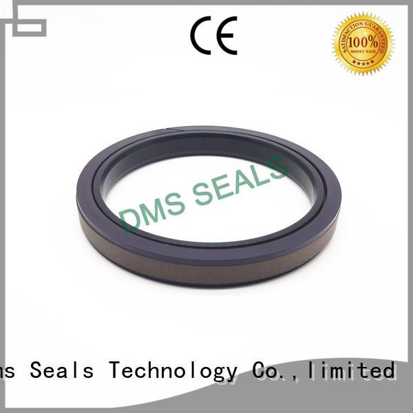 bronze filled hydraulic cylinder piston supplier for piston and hydraulic cylinder DMS Seal Manufacturer