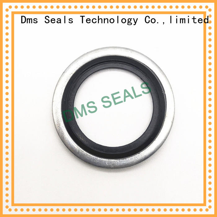 DMS Seal Manufacturer dowty bonded seals washer for threaded pipe fittings and plug sealing