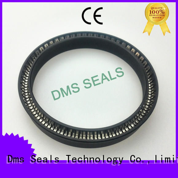 carbon fiber filled spring energized seals parts for reciprocating piston rod or piston single acting seal