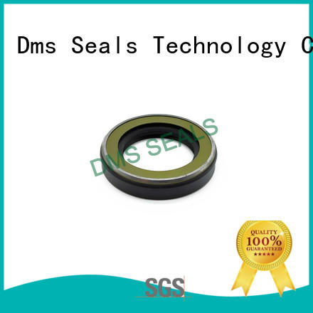 DMS Seal Manufacturer seal rotary shaft with a rubber coating for sale