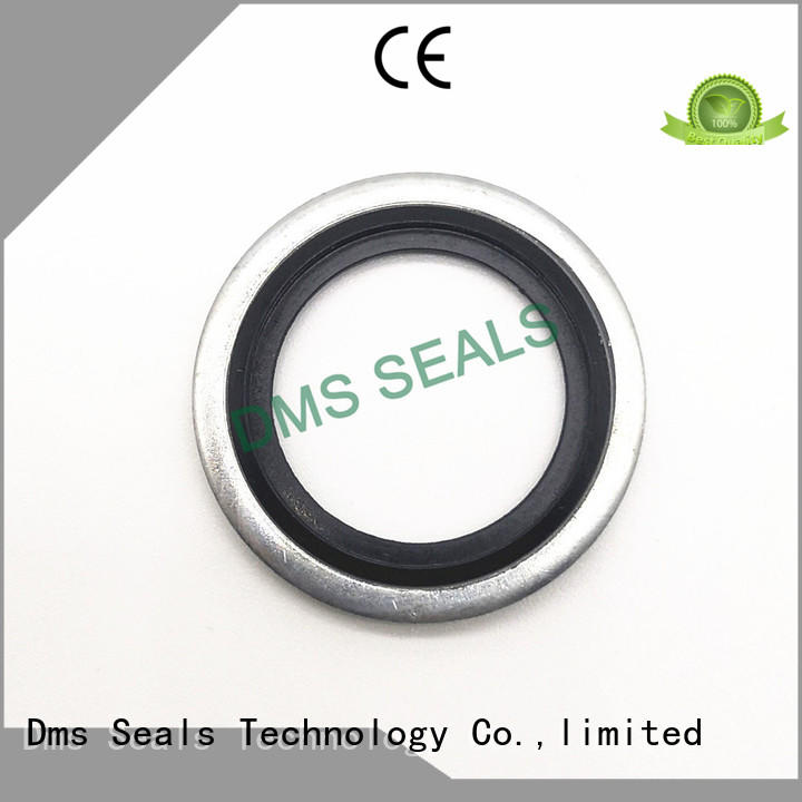 dowty metric bonded seals ring for threaded pipe fittings and plug sealing DMS Seal Manufacturer