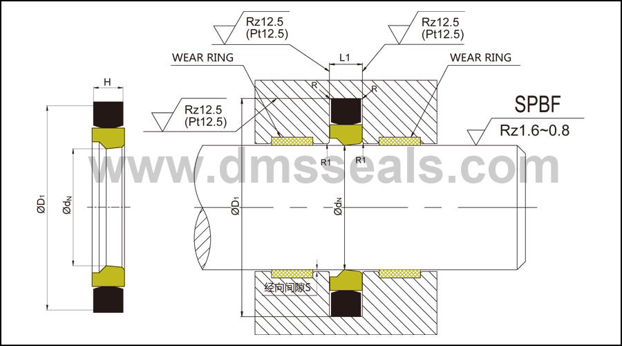 rod seals with nbr or pu for sale-1