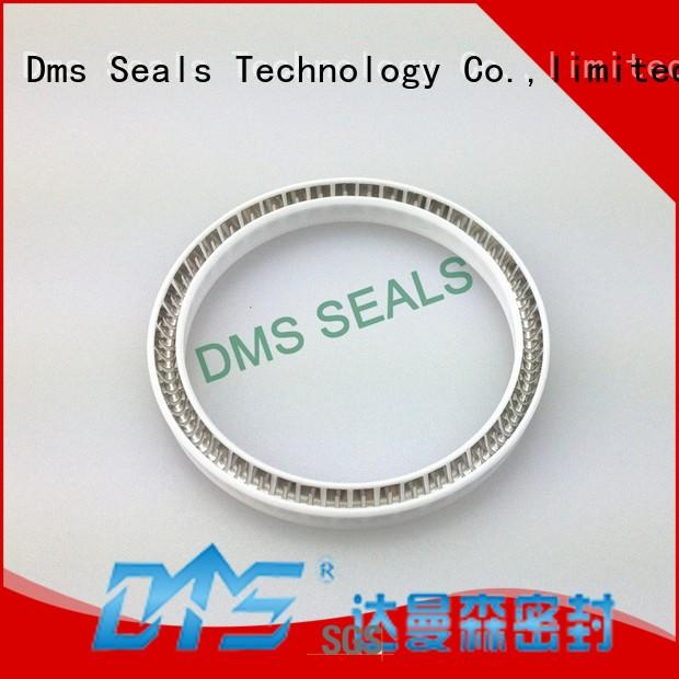 spring energized seals solutions for reciprocating piston rod or piston single acting seal DMS Seal Manufacturer
