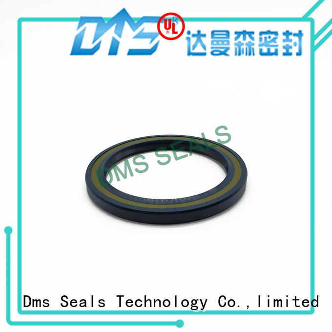 DMS Seal Manufacturer wheel oil seal with a rubber coating for sale