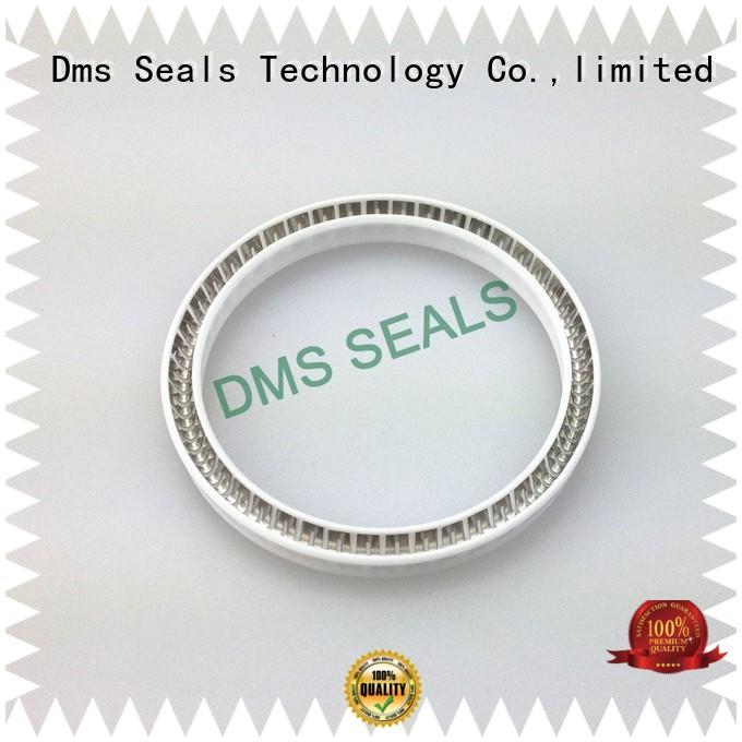 ptfe spring seals supplier for reciprocating piston rod or piston single acting seal