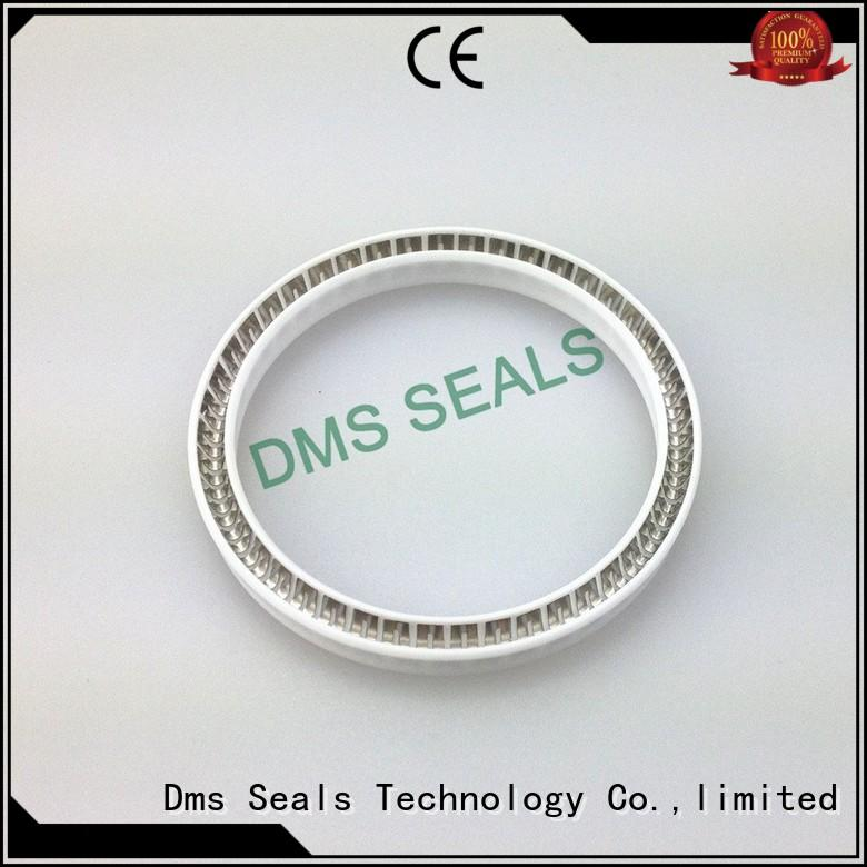 seal hydraulic spring spring energized seals DMS Seal Manufacturer