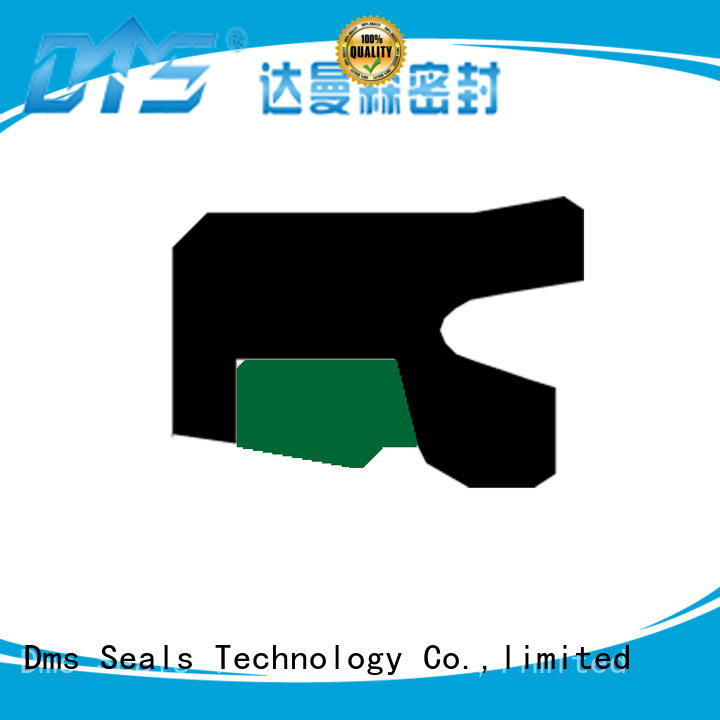 DMS Seal Manufacturer Custom piston rod seal with nbr or pu for pressure work and sliding high speed occasions